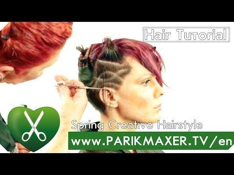 Pixie haircut. Tatyana Pokitaylova. parikmaxer tv english version