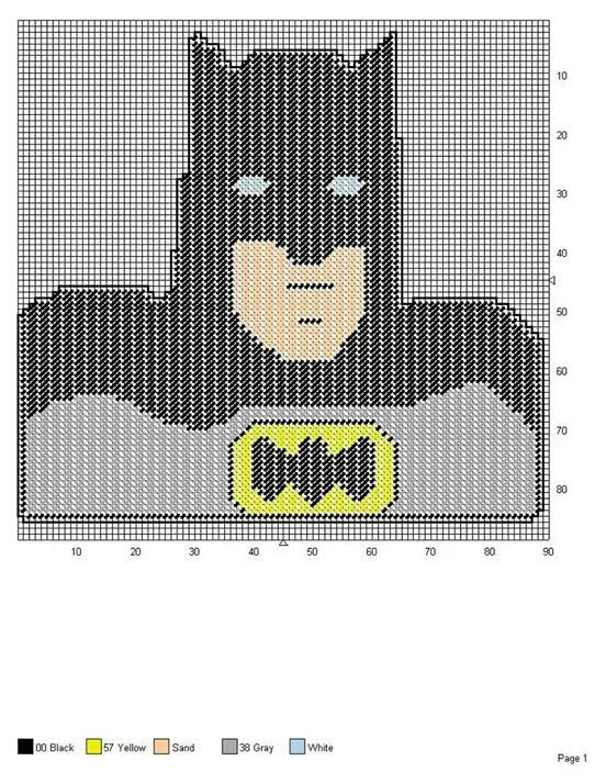 Batman wall hanging