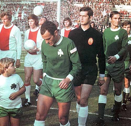 Ajax - Panathinaikos Champions Cup Final 1971, Wembley Stadium