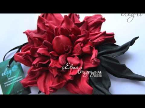 """Анонс. Цветы из кожи. Роза """"Престиж"""""""