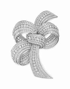A DIAMOND BROOCH, BY DAVID WEBB                                                                                                                                                                                 More