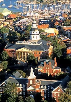 Visited lovely historic Annapolis, MD in December 2011 to watch daughter Erin get sworn into the MD Bar!