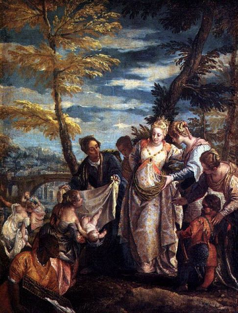 Η εύρεση του Μωυσή (1570~75)