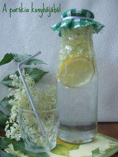 A parókia konyhájából: Bodzás limonádé