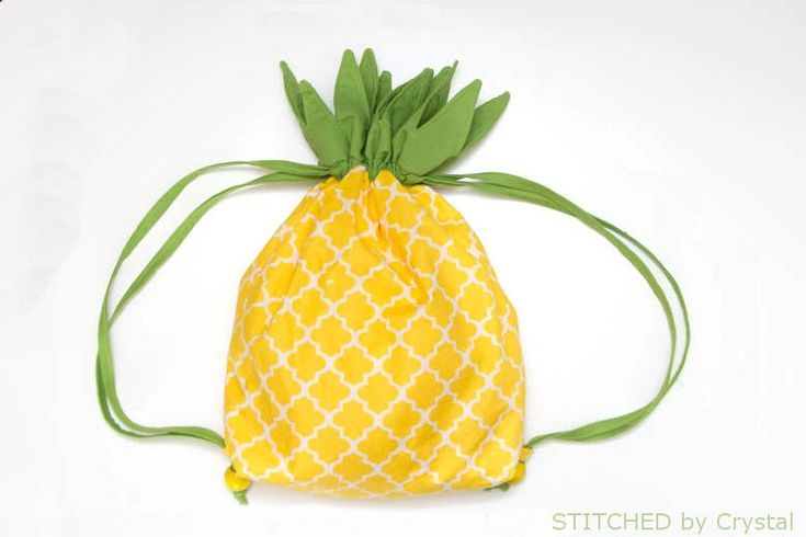 Pineapple Backpack Tutorial for Make it-Love it (via Bloglovin.com )