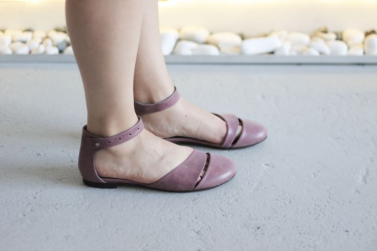 HEIDI - Lilac - FREE SHIPPING Handmade Leather Shoes by Keymandesign on Etsy