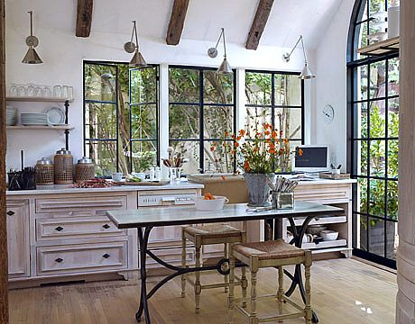 116 Best Images About Kitchen No Uppers On Pinterest Stove French Kitchens And Cabinets
