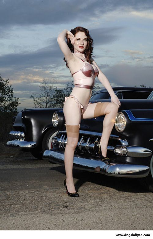 Chevy Trucks For Sale Near Me >> The Rebel PIN-UP Page: HOT ROD ANGEL, ANGELA RYAN www ...