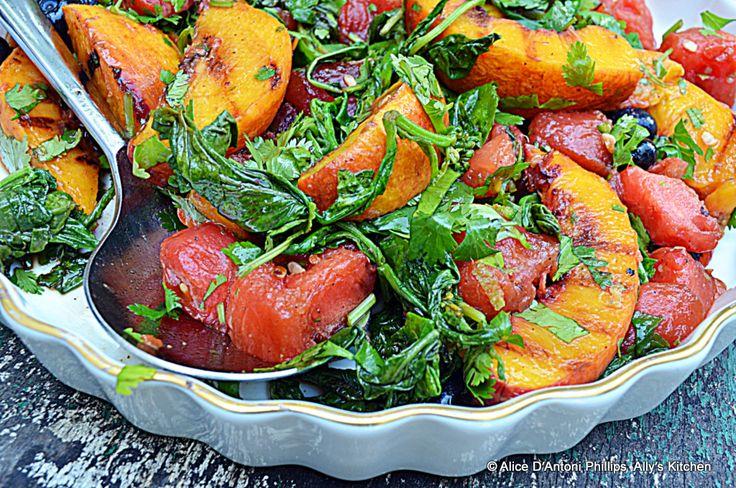 Cast Iron Skillet Grilled Fruit Salad | Deliciousness | Pinterest
