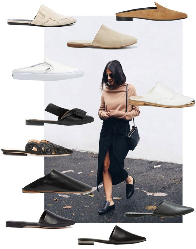 Shop the Trend: Flat Mules                                                                                                                                                                                 More