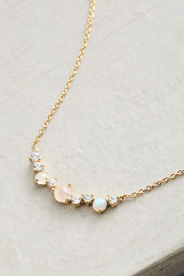 Slide View: 2: Seaside Ombre Necklace