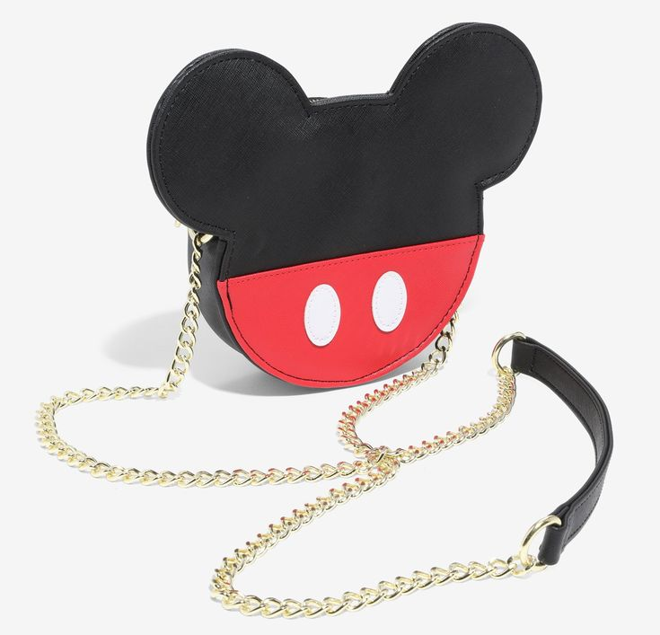 Oh Boy! We Love This Loungefly Disney Mickey Mouse Crossbody!