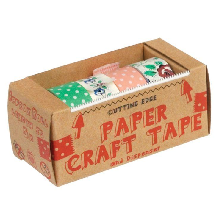 Pack de 4 washi tape Flores