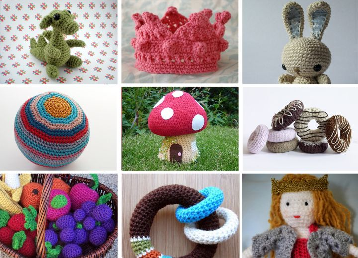 Free crochet childrens toys patterns Crochet - Toys ...