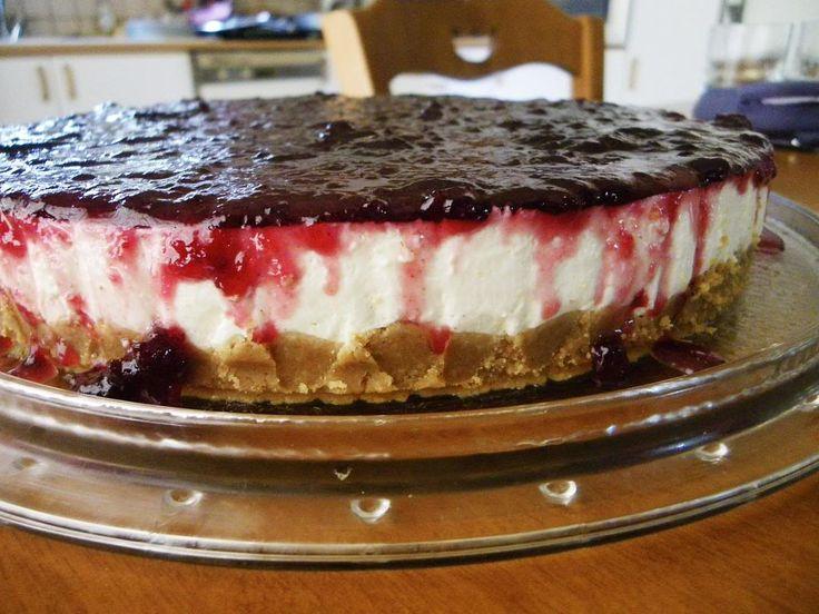Cheesecake ψυγείου   Μυρωδάτα Φουρνίσματα - Smells Like Baking