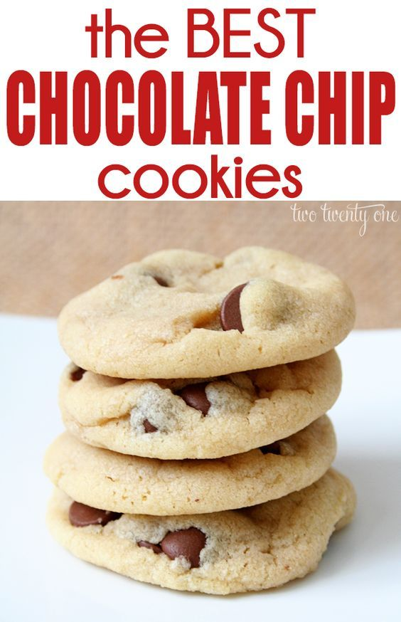 The softest, most delicious chocolate chip cookies!