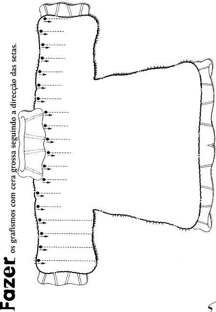 schrijfpatroon voor kleuters, thema kleding, free printable