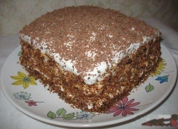 Как приготовить торт мечта холостяка