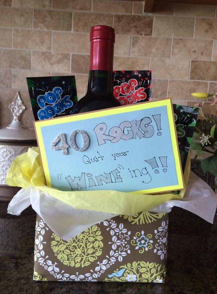 70th Birthday Present Ideas >> 40th birthday gift idea | Creative gift ideas | Pinterest | 40th birthday, Birthdays and 40th ...