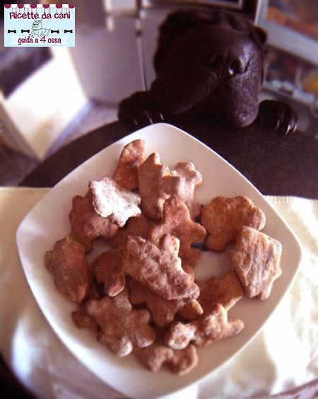 Biscotti per cani alla banana e cannella - gusto e profumo particolare - semplicissimi da fare, adatti anche a chi è alle prime armi in cucina