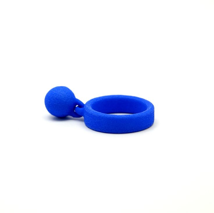 3D printed ring.What a beautiful color...   www.scicche.itwww