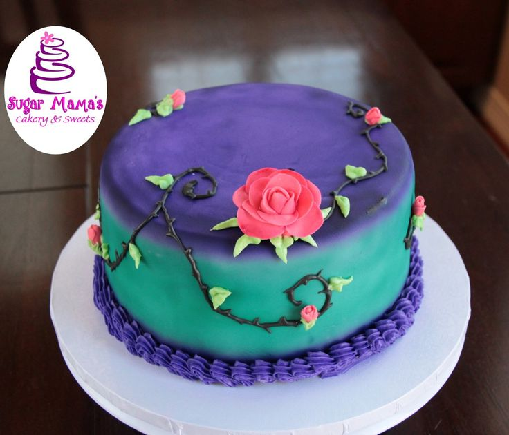 how to make a descendants cake