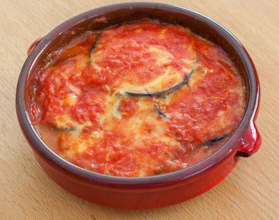 Lenie's blog : Parmigiana di melanza (aubergine met kaas en tomat...