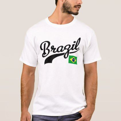 Brazil T-Shirt - personalize gift idea special custom diy or cyo