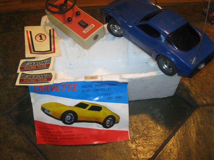 Rare Vintage Jason Corvette Jsc 5001 Digital Proportional Remote