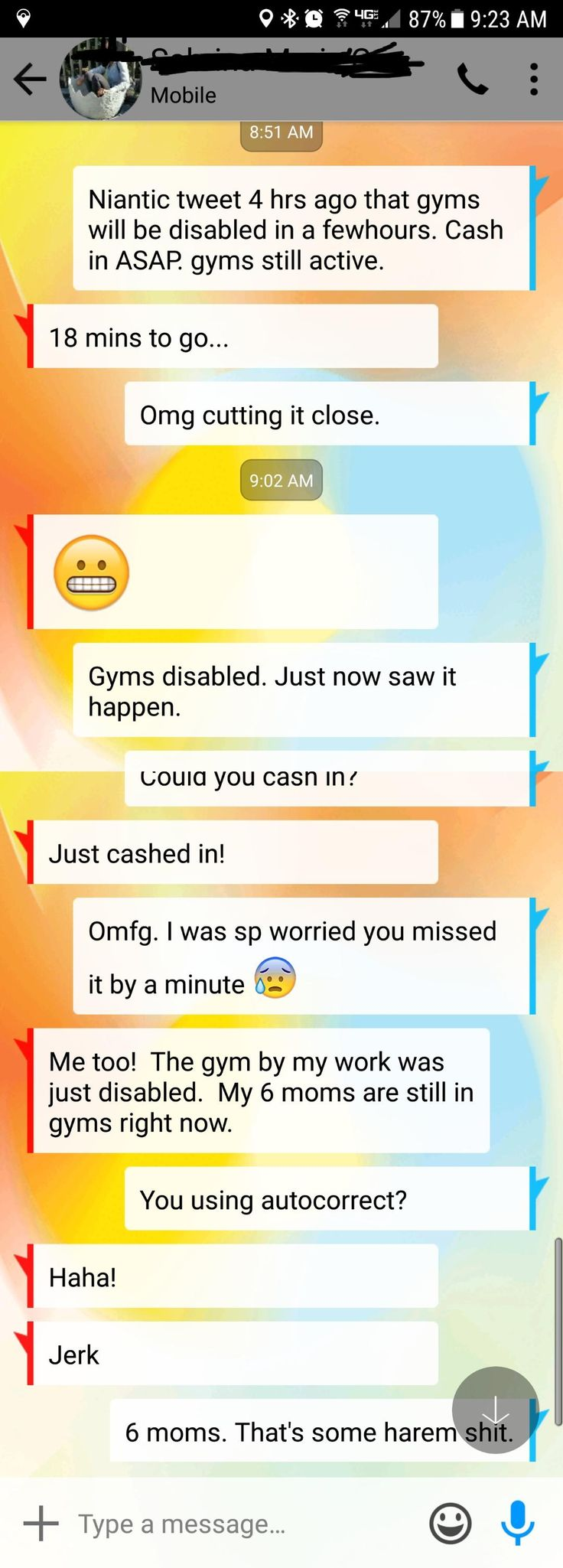 [Humor] 6 moms in gyms as they're about to be disabled