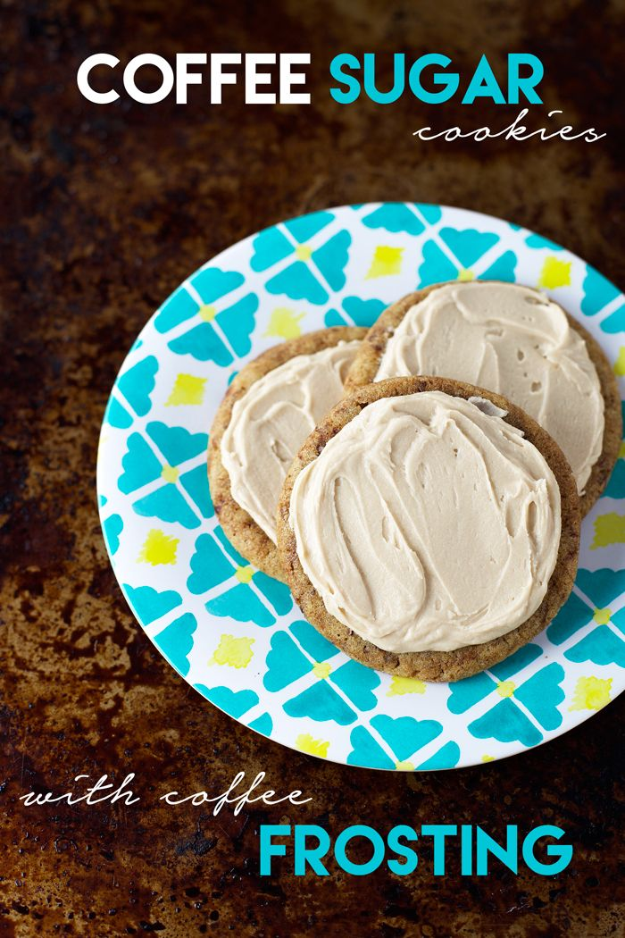 Blog post at Sweet as a Cookie : These coffee sugar cookies with coffee frosting are the perfect pairing. This may be my favorite week ever! If you haven't already [..]