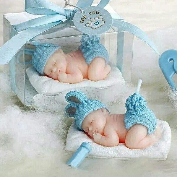 #bebek #bebeksekeri Mum Uyuyan Bebek Hediyelikleri