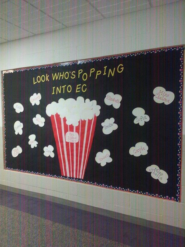 Popcorn bulletin board | Bulletin Boards | Pinterest ...