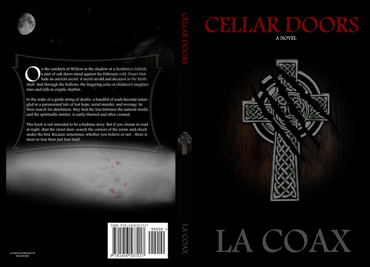 I considered dribbling blood around the footprints in the snow, but decided against it. I never intended to tell a horror story. But rather, a spiritual thriller with a little mystery thrown in for fun.