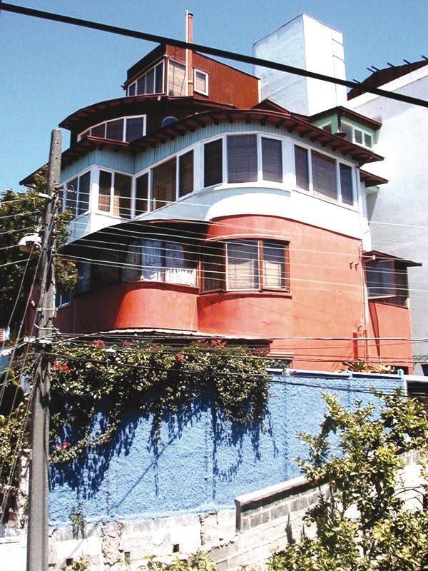 La Sebastiana - Valparaiso (Una de las casas de Pablo Neruda)
