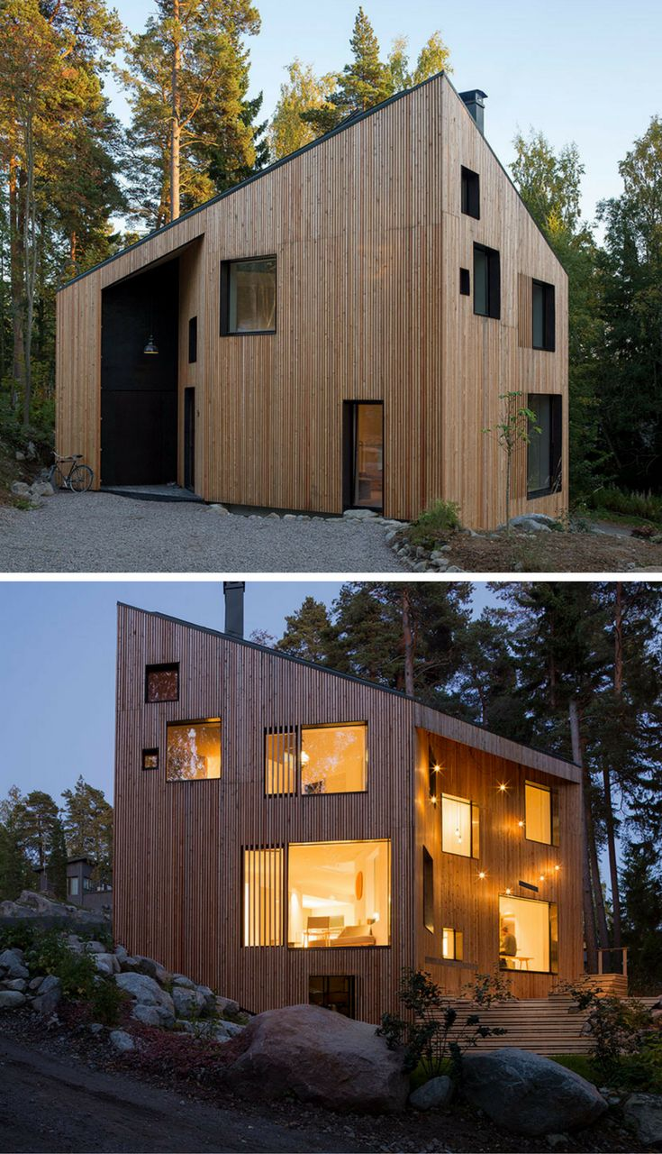 ortraum architects' timber dwelling provides comfortable living space for a large family