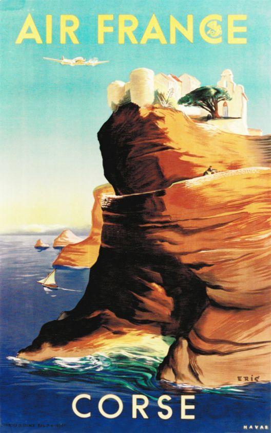 #essenzadirivera - Corsica Vintage Poster