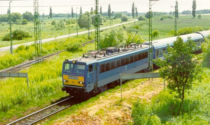 V63 Gigant Train Hungary