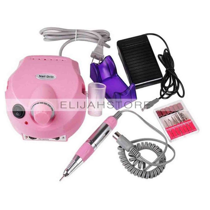 Portable Electric Light nail Grinding Machine US Plug  Nail 202 Grinding Machine Nail Polish Instrument