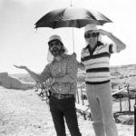 George Lucas and Steven Spielberg on the set ofRaiders of the Lost Ark. .