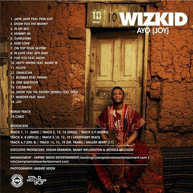 Wizkid Album Leaks, Tops iTunes, Beats Chris Brown, Psquare - Pulse