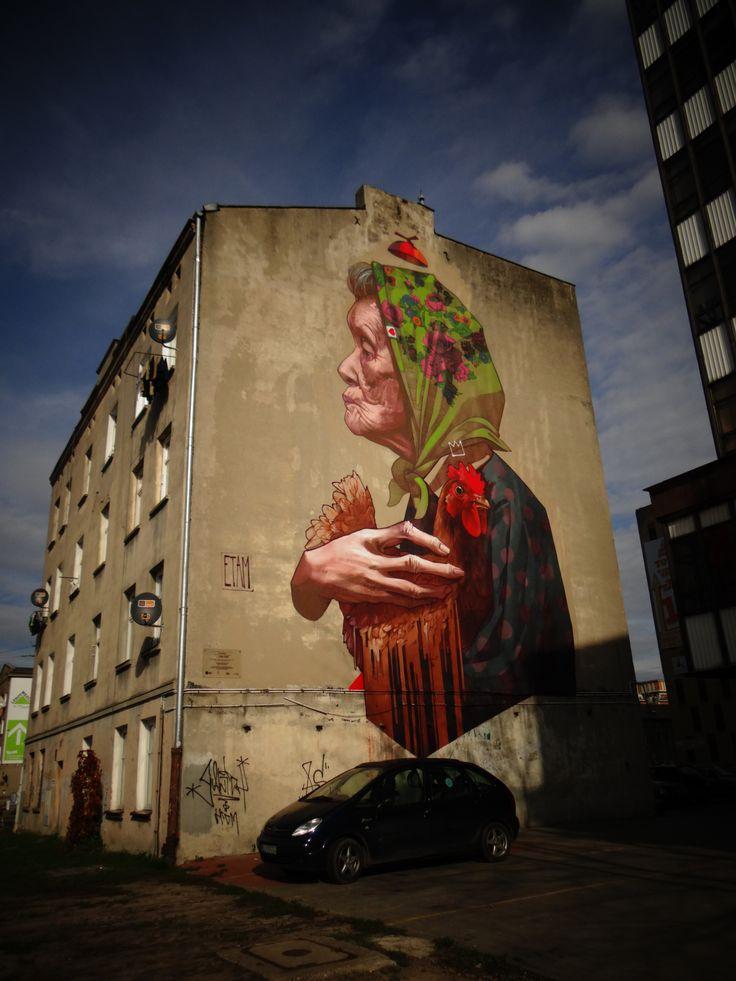 street art author: ARYZ