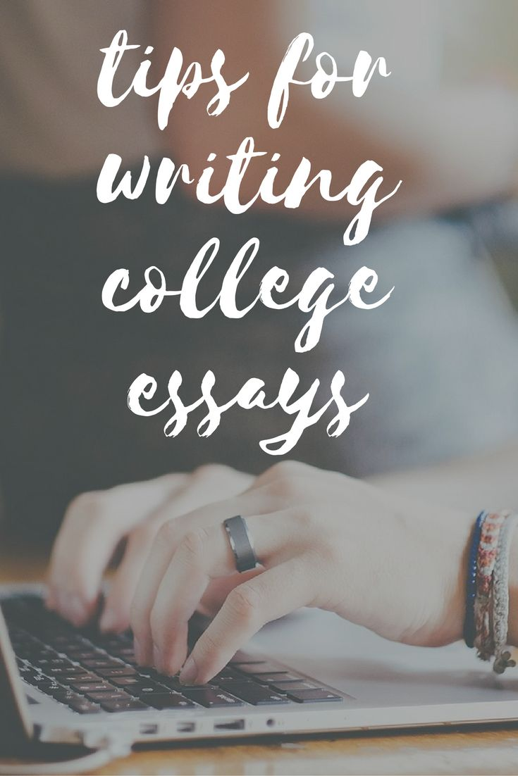 Tips for Writing College and Scholarship Essays