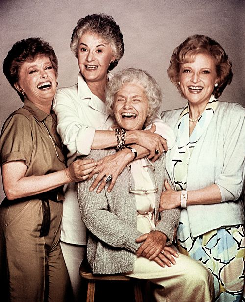 Rue McClanahan, Bea Arthur, Estelle Getty & Betty White in The Golden Girls (1985-92, NBC) Thank You For Being a Friend!