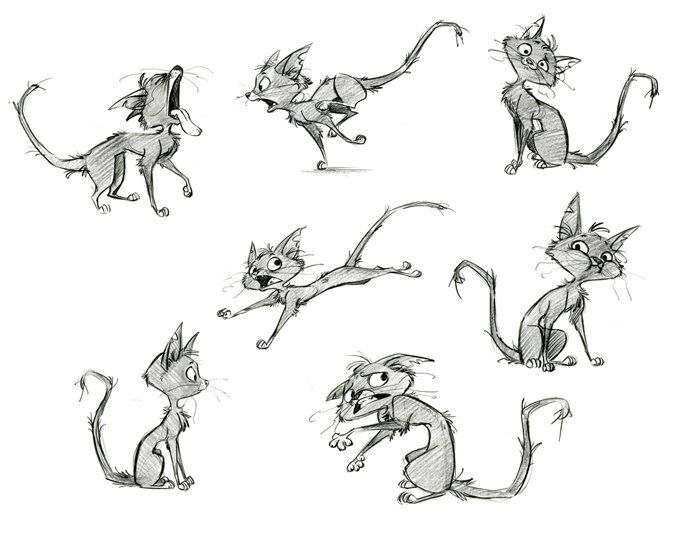 how to draw animal characters