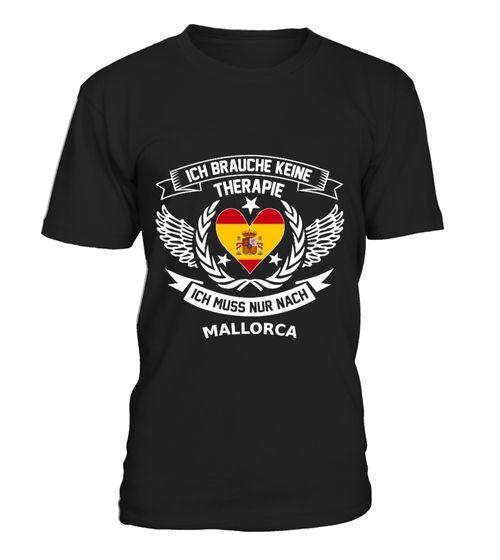 Mallorca Therapie T Shirt Pullover Hoodie Sweatshirt fr Damen und Herren