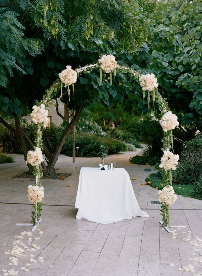 Ceremony Arch | Photo: Esther Sun Photography