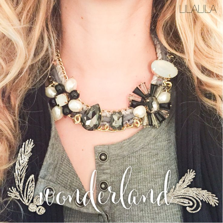 Wonderland by LILALILA statement jewelry