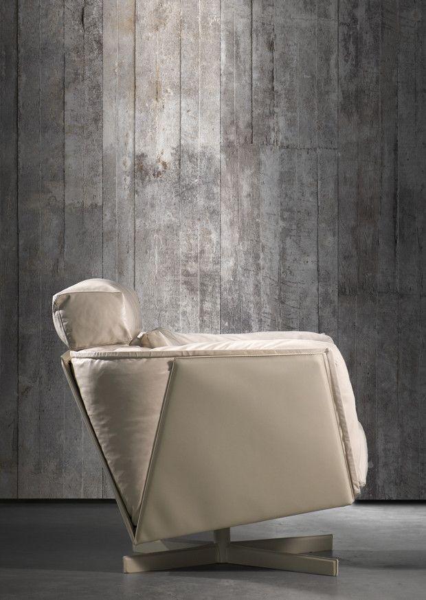 No. 2 Concrete Wallpaper design by Piet Boon for NLXL Wallpaper | BURKE DECOR