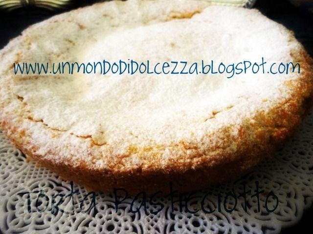 Torta pasticciotto Recipe: http://ildolcemondodipaoletta.forumfree.it/?t=68471501
